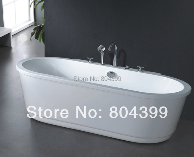 Aliexpress.com : Buy freestanding bathtub Oval massage deep soaking ...