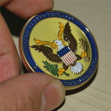 Free Shipping 20pcs/lot,Dedicated May 14, 2018 - Israel Jerusalem United States Embassy Trump Challenge Coin