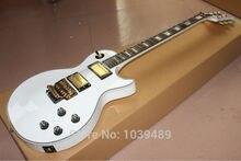 Großhandel-Chinesische Gitarre 2014 Neue Ankunft Weiß floyd vibrato Kundenspezifische Elektrische Gitarre Hohe Günstige kostenloser versand