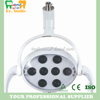 Dental Operating Oral Lamp LED light For Dental Chair Unit 8 leds high power