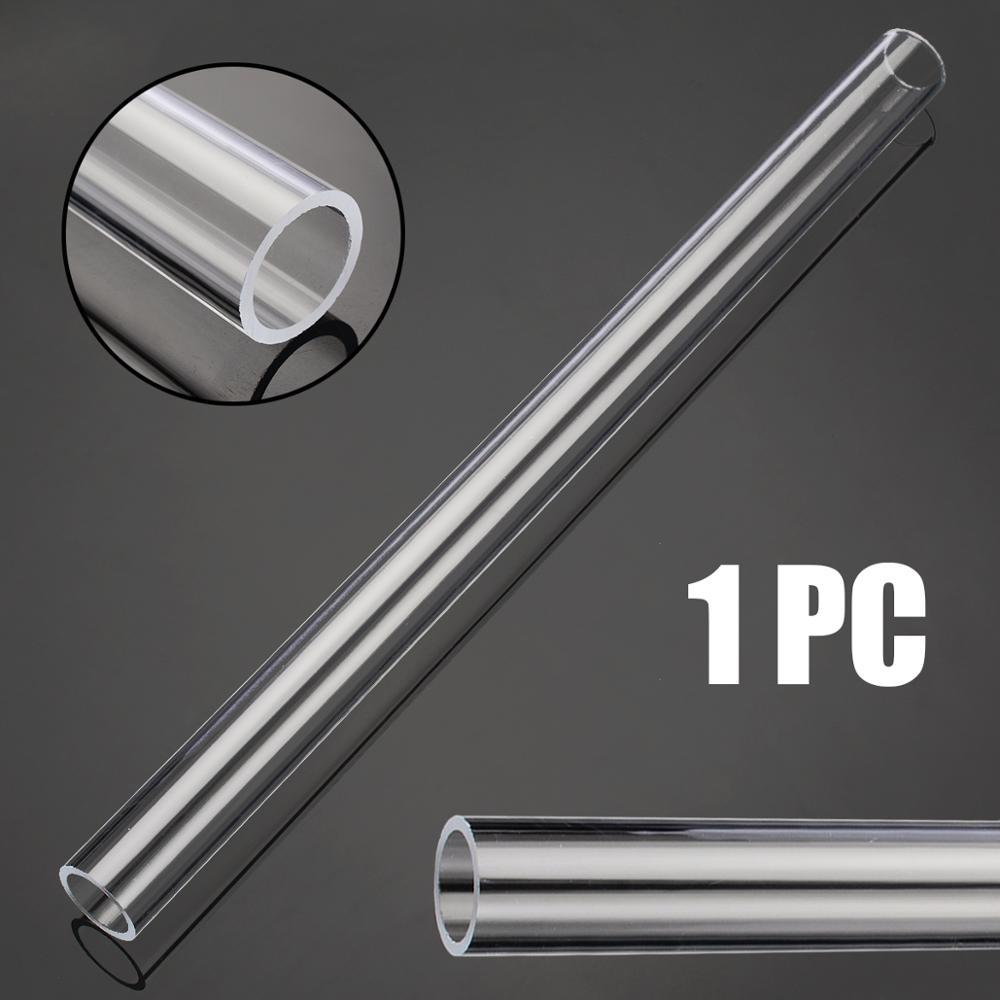 Transparent Acrylic Plexiglass Lucite Tube 300mm Length 20mm OD 16mm ID