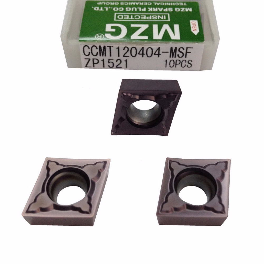 Free Shipping MZG CCMT060204 CCMT09T308 CCMT09T304 MSF Boring Turning CNC Stainless Steel Cutting Tools Tungsten Carbide Inserts
