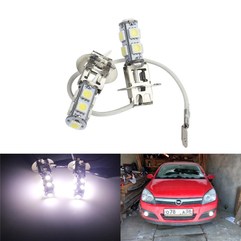2X LED H8 H11 27SMD Bulb For Vehicle Fog Driving Light Lamp DRL White Color Trim