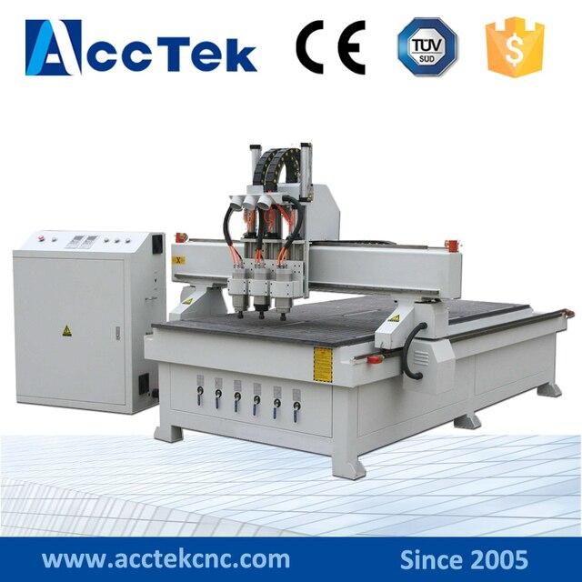 AKM1325 3 China Manufacturer Best Price Wood Door Making Machine Cnc Router  Machine For Furniture
