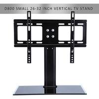 Flat Screen Bracket 26 32 Inch LED LCD TV Stand Mount Bracket Glass Base