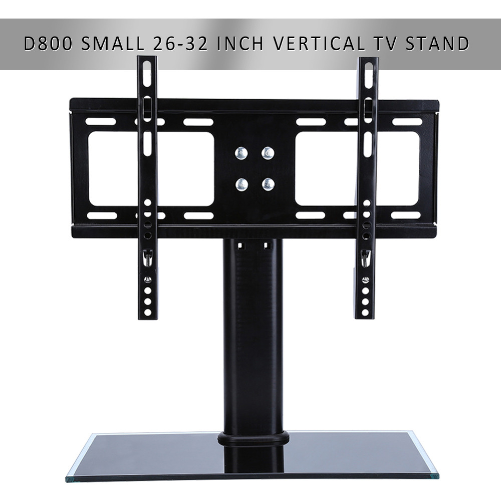 Flat Screen Bracket 26 32 Inch LED LCD TV Stand Mount Bracket Glass Base(