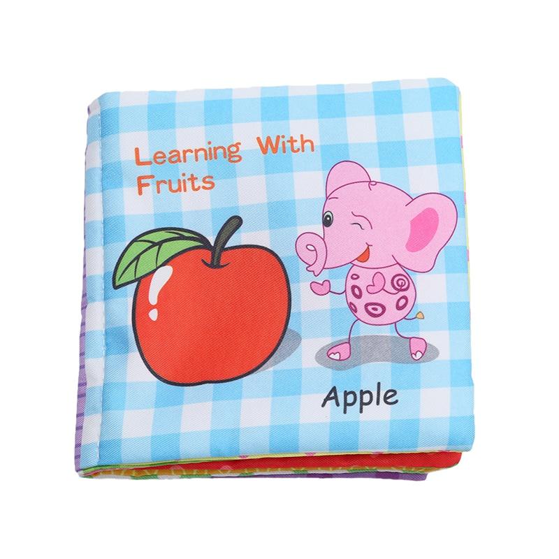 8/10 halaman bayi gemerincing menggerakkan mainan buku haiwan lembut - Mainan untuk kanak-kanak - Foto 4