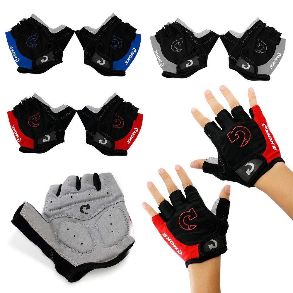 Bicycle Gloves Half Finger Cycling Gloves Anti Slip Gel Pad Breathable Motorcycle MTB Road Bike Gloves Men Women Sports in Cycling Gloves from Sports Entertainment
