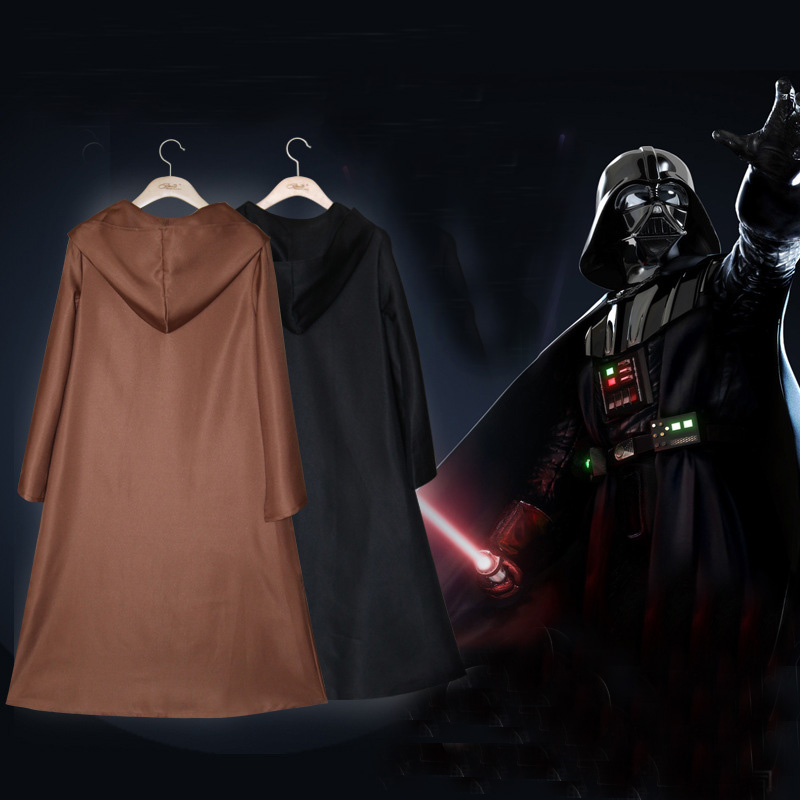 Cool Hoodie Polyester Cloak Cape Vampire Wizard Kids Adult Cosplay Charm