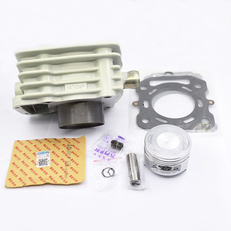 Motorcycle Cylinder Kit For ZONGSHEN HI-VALIANT CG200 CG250 CG 200 250 Water-cooled ZS163ML ZS170MM Engine Spare Parts 38mm cylinder barrel piston kit