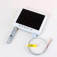 Wiszący typu przetwornik wilgotności i temperatury kontroli i rs 485 as109 z wyjścia alarmowego, czujnik wilgotności i temperatury do sterowania