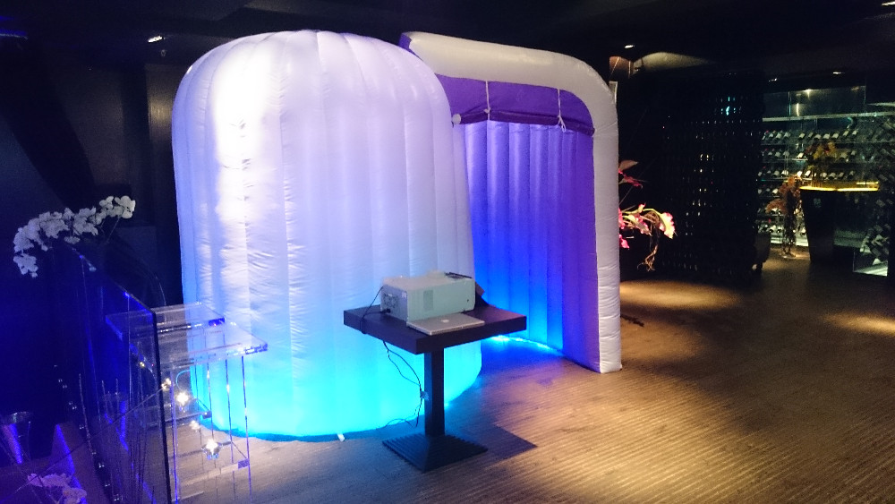inflatable photo booth portable