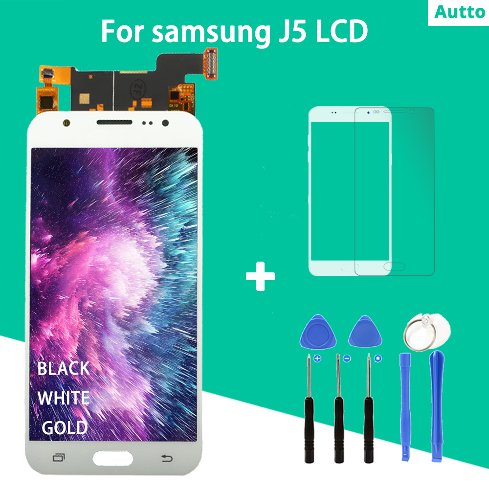 For sAMSUNG GALAXY J5 J500 J500F J500FN J500M J500H 2015 AAA LCD Display With Touch Screen Digitizer Assembly + Disassemble ToolFor sAMSUNG GALAXY J5 J500 J500F J500FN J500M J500H 2015 AAA LCD Display With Touch Screen Digitizer Assembly + Disassemble Tool