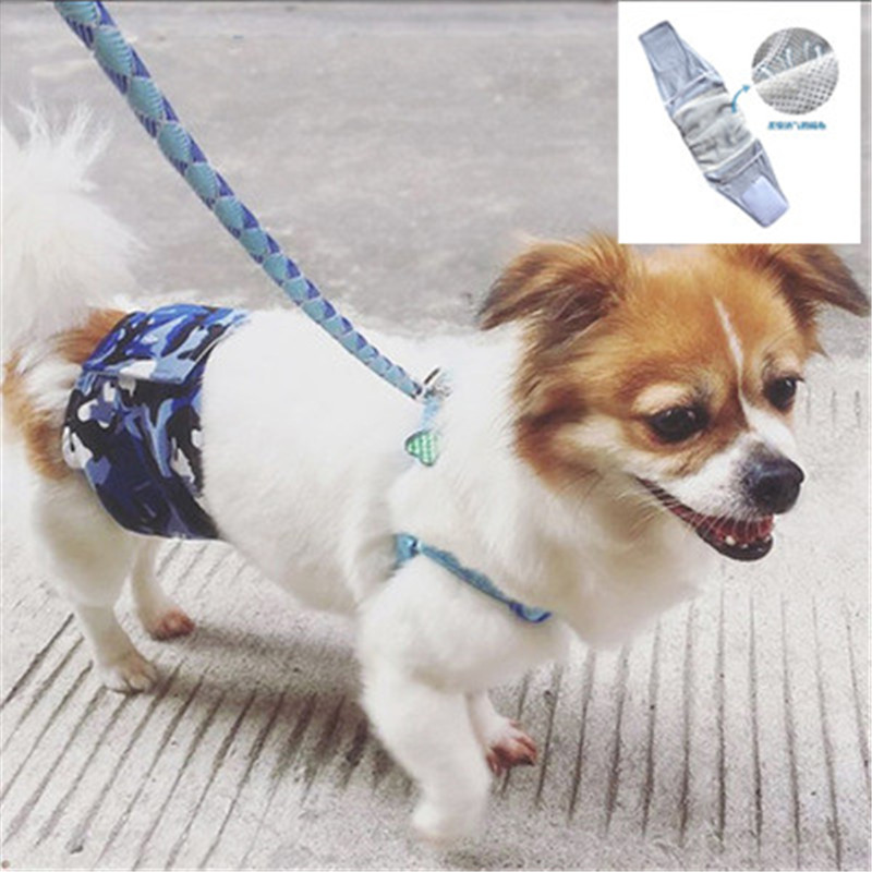 New Male Pet Dog Camouflage Physiological Pants Courtesy Harassment Pants For Male Underwear Anti-urinary For Boy Dog Cat Hot