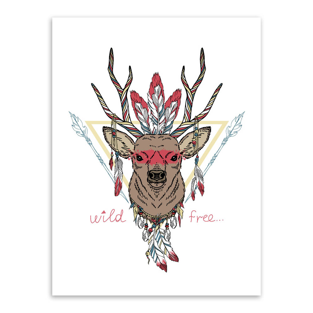 aliexpress com buy modern indian animals head deer horse zebra