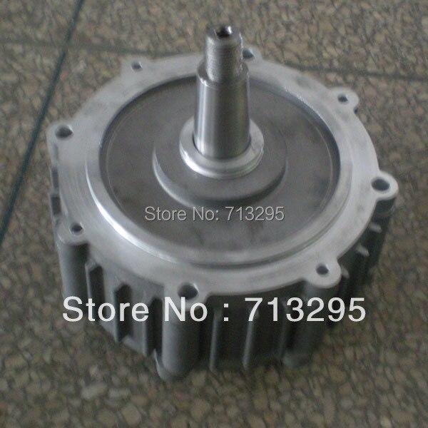 100w 500rpm 14V VDC wind turbine permanent magnet alternator coreless motor