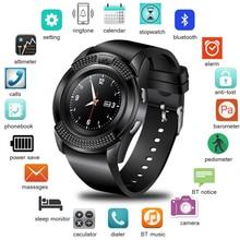 WISHDOIT นาฬิกาดิจิตอลสมาร์ทการสั่นสะเทือนนาฬิกาปลุก LED หน้าจอสีฟิตเนส Pedometer บลูทูธแฟชั่นสมาร์ทนาฬิกาโทรศัพท์กล้อง