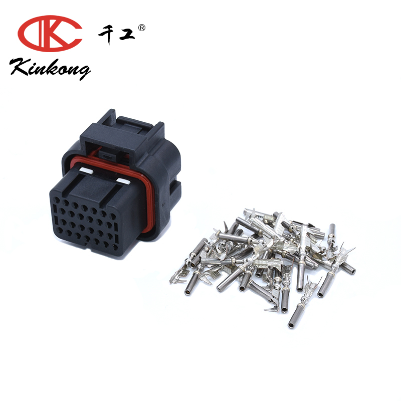 US $35 8 |KINKONG 5Sets 26P Tyco AMP Superseal 1 0 MoTec/Haltech ECU Auto  Wire Connector 3 1437290 7 With Terminals-in Connectors from Lights &