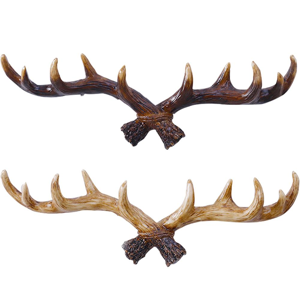 American Style Vintage Antler Shaped Decoration Wall