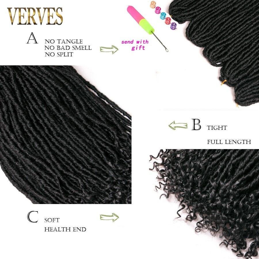 crochet braid faux curly