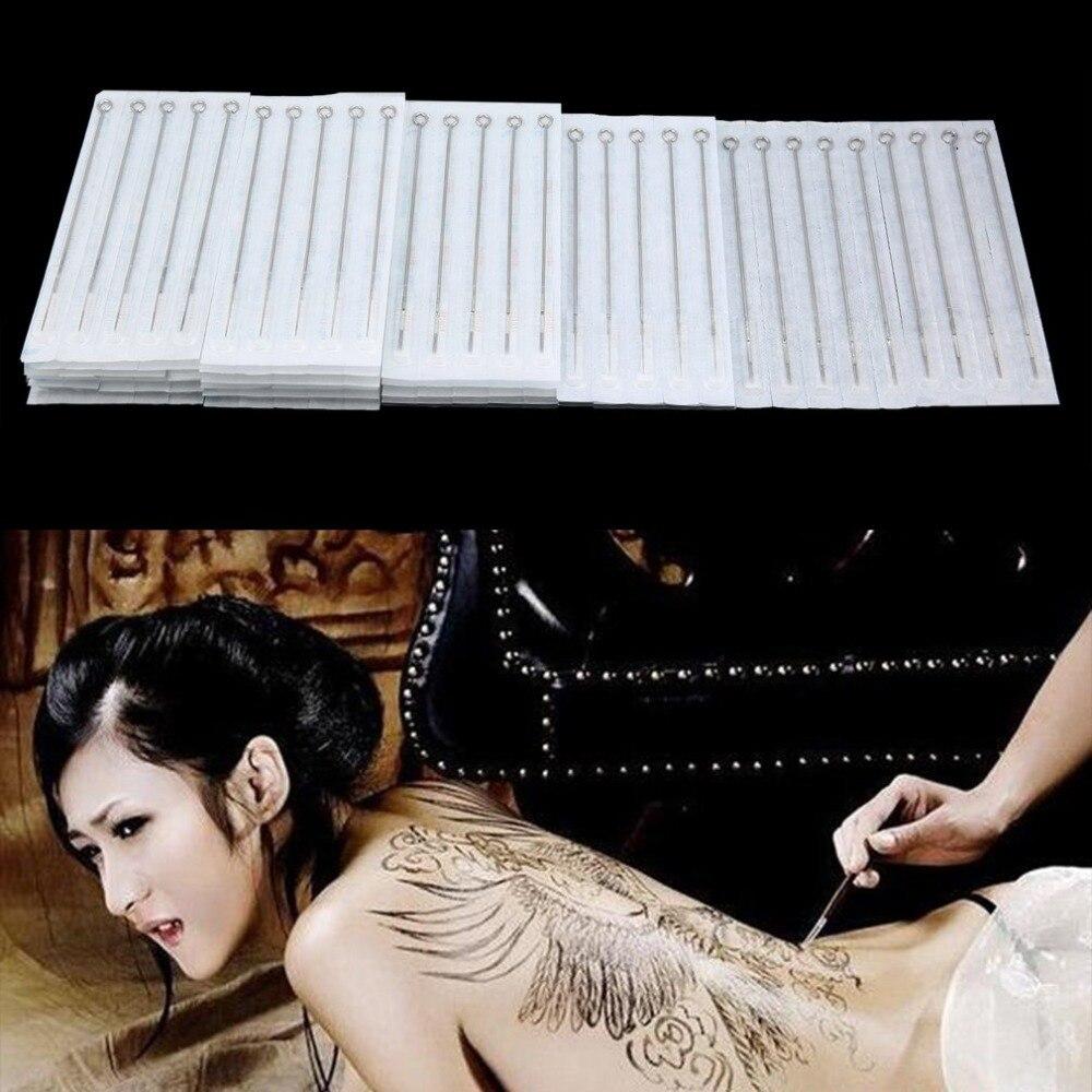 Sicherheit & Schutz 100 Pcs Einweg Tattoo Nadeln Mix Größen Sterile Tattoo Nadel Set Für Make-up Werkzeuge 1rl 3rl 5rl 3rs 5rs 5m1 5f Komplette Artikelauswahl