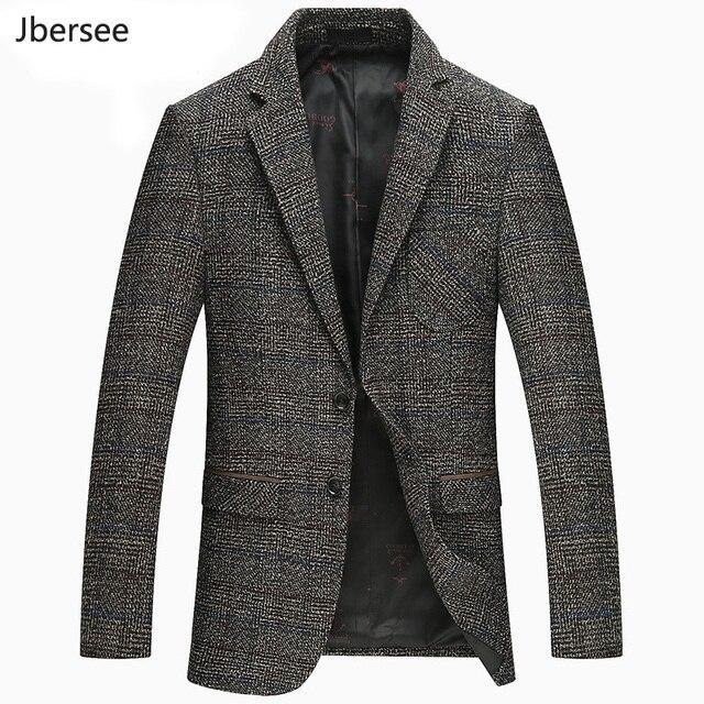 d1e8737557a30 Jbersee moda marynarka mężczyzna garnitur kurtka marka Slim Fit Casual  marynarki garnitury męskie biznes Blazer Masculino kostium Homme