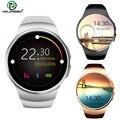 Holdream hw18 smartwatch telefone round dial pedômetro música bluetooth 4.0 heart rate monitor remoto câmera smart watch android ios