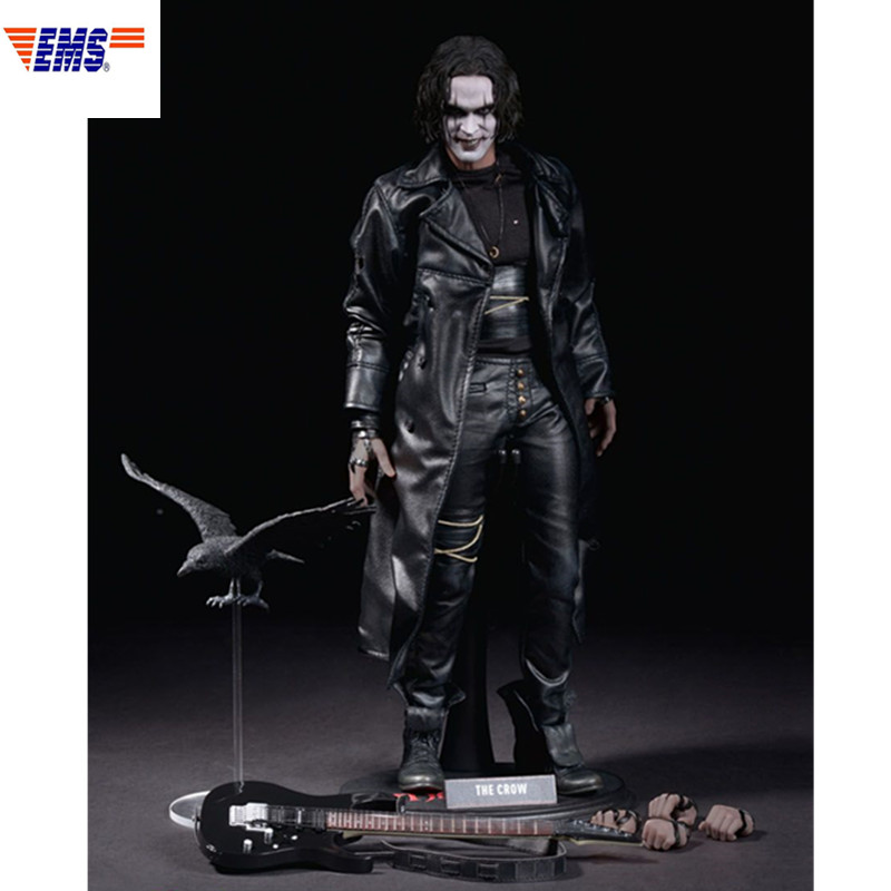 30CM The Crow 1/6th Scale Eric Draven Brandon Lee Movable Joints PVC Action Figure Collection Model Decoration X9830CM The Crow 1/6th Scale Eric Draven Brandon Lee Movable Joints PVC Action Figure Collection Model Decoration X98