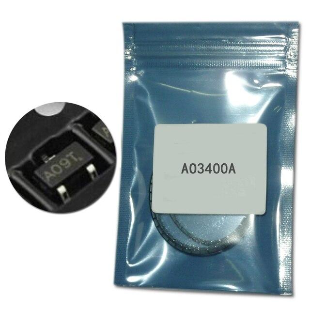 100 шт./лот AO3400A СОТ-23 n-канальный smd транзисторный комплект AO3400 SOT-23-3L mosfet транзисторы 5.7A 1,4 W SMD набор транзисторов