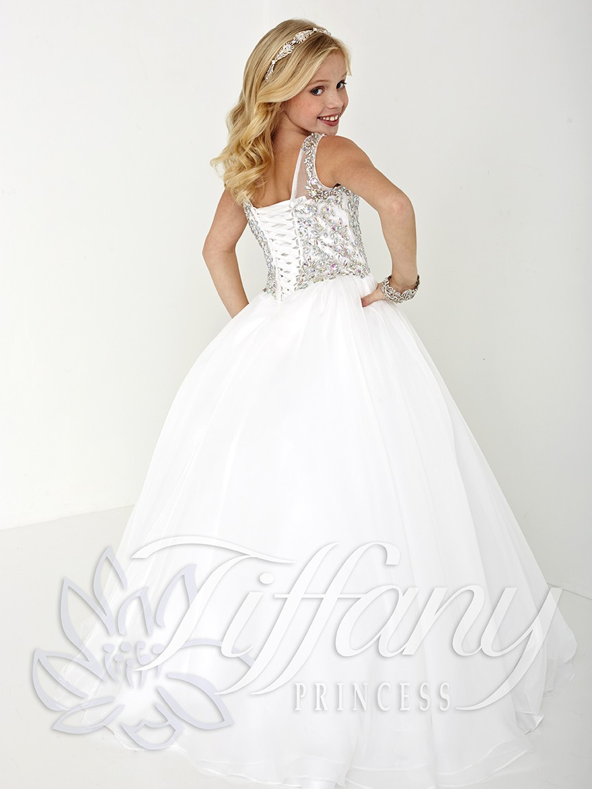 White Princess Prom Dresses