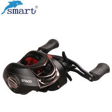 Smart Bait Casting Fishing Reel 10+1B 6.3:1 Right/Left Hand Fishing Carretilha Molinetes Peche Aluminum Spool For Fishing