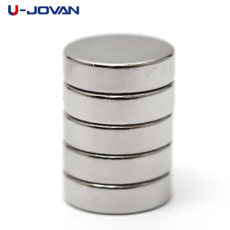 U-JOVAN 20 個 10 × 3 ミリメートル N50 ミニ · スモールラウンドネオジム強力なネオジムディスク磁石スーパーストロング希土類マグネット