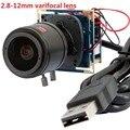 1920*1080 p 30fps/60fps/120fps hd cmos OV2710 2.8-12mm varifocal cctv conselho médico módulo da câmera usb para o android, linux, Windows