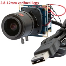 1920*1080 p 30fps/60fps/$ number fps hd cmos OV2710 2.8-12mm varifocal cctv junta médica módulo de la cámara usb para android, linux, Windows
