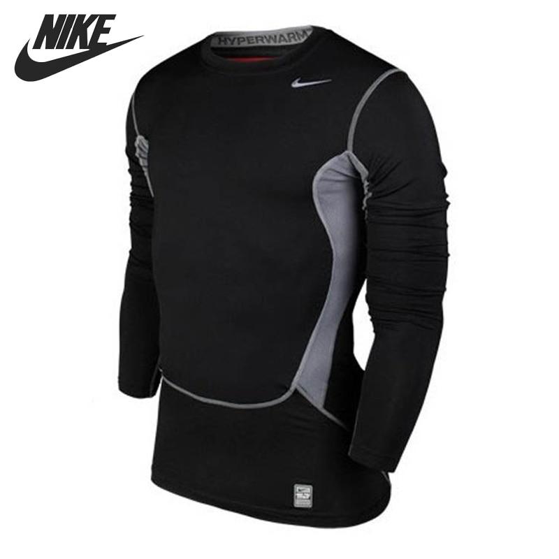 Original    Nike men's T-shirts 532500-011 Long sleeve Sportswear чулок д щитков nike guard lock elite sleeve su12 se0173 011 l чёрный