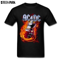 Team T Shirt ACDC Malcolm Young Printed T Shirts Men T]Shirts Fashion 2019 Great Man t Shart For Man Work