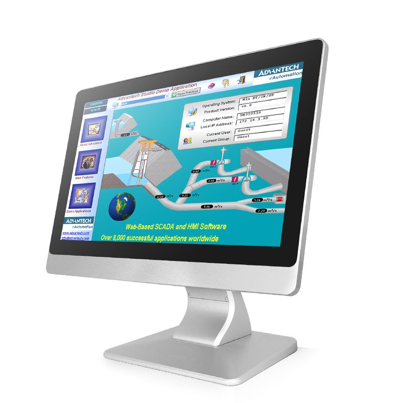 10.4 Inch IP65 J1900 Industrial Embedded Touch Screen Fanless All-in-one Computer