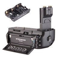 Professional Multi Power Vertical Battery Grip Holder Pack For Canon EOS 5D Mark II 5DII 5D2