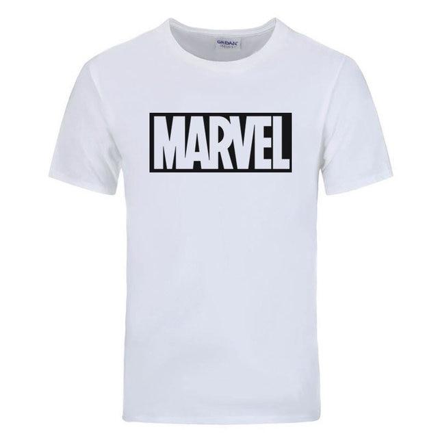 Футболка логотип Marvel