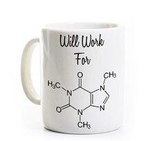 Science mugs geek chemistry teacher coffee mug ceramic Tea  porcelain home decal  mugen