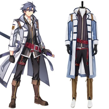The Legend of Heroes: Trails of Cold Steel Rean Schwarzer Suit Outfit Halloween Carnival Cosplay Costume Custom Made Any Size