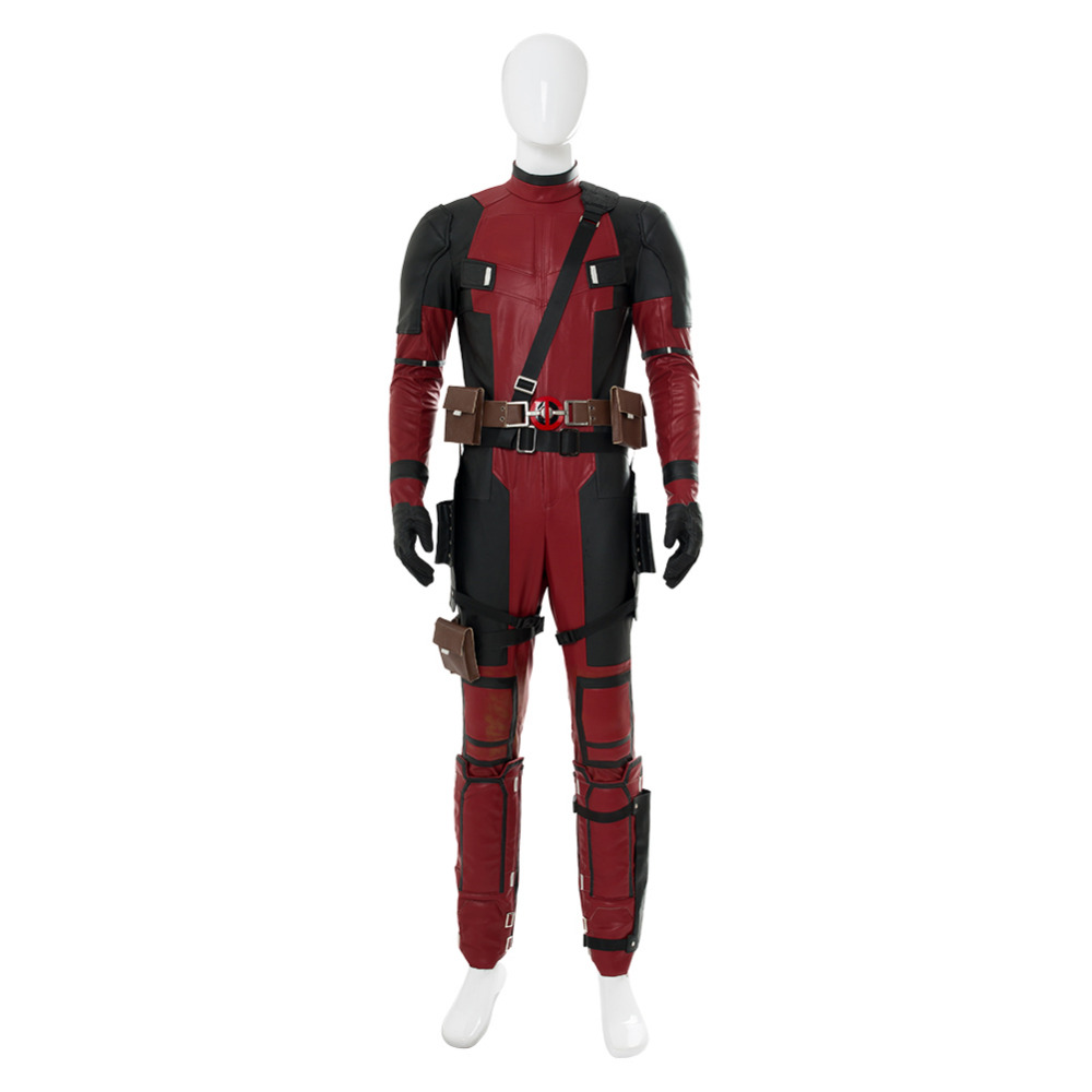 Movie Deadpool2 Wade Winston Wilson Cosplay Costume Adult Halloween Carnival Cosplay Costume High Quality Full Set