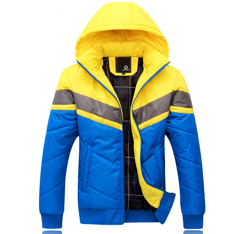 ФОТО Free Shipping The New Winter  Brand, Men's Fashion Leisure Big Yards With Thick Warm Man Cotton-Padded Jacket Winter Jacket Coat