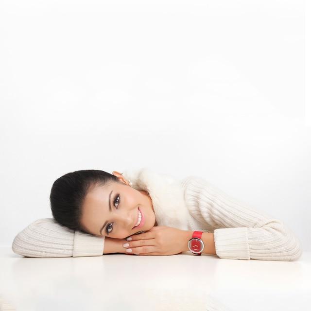 Delle donne Della Vigilanza DOM Marchio di lusso di Modo Casual Unico Della Signora orologi Da Polso in pelle al quarzo orologio impermeabile Alla Moda relogio feminino 205