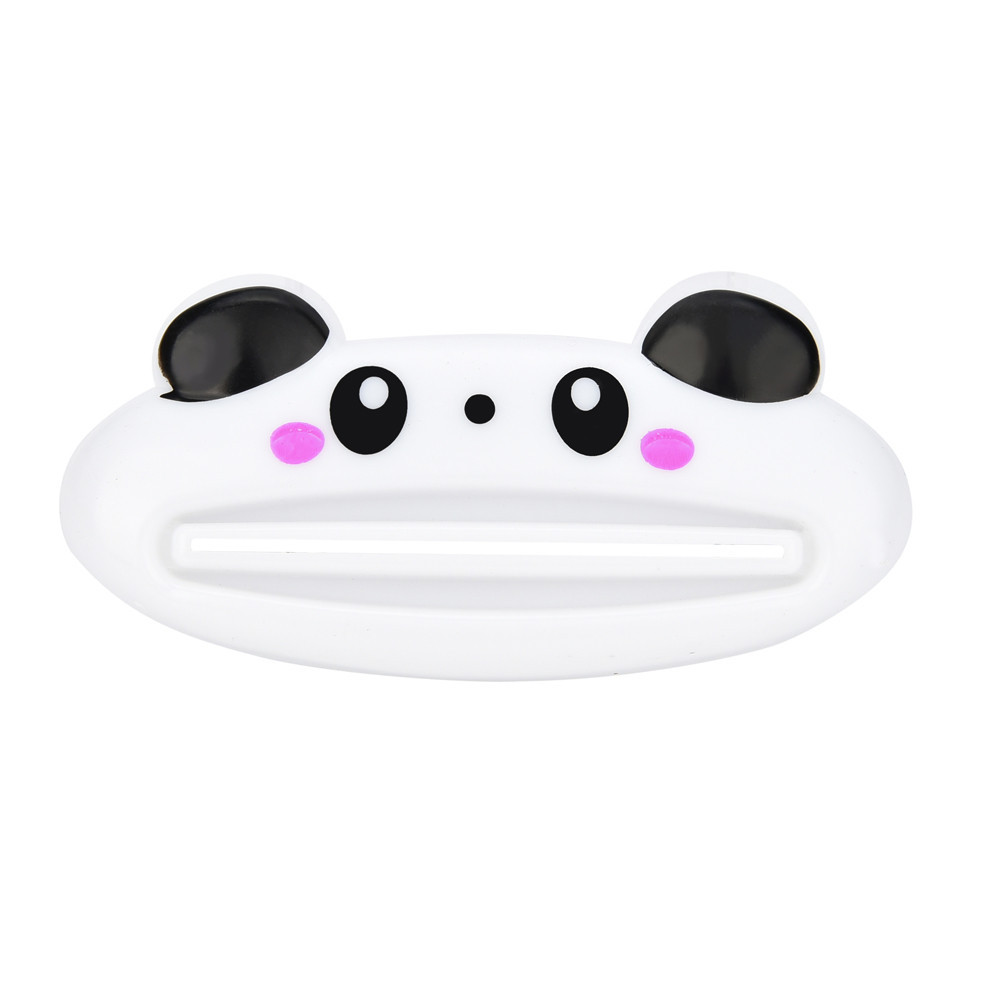 2018 HOT sale Tube Squeezer Bathroom Home Tube Rolling Holder Squeezer Easy Cartoon Toothpaste Dispenser