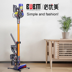 BUBM Freestanding Floor Stand for Dyson Handheld V6 V7 V8 V10 DC30 DC31 DC34 DC35 DC58 DC59 DC62 DC74 Cordless Vacuum Cleaners