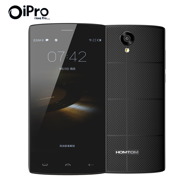 Original HOMTOM HT7 Pro MTK6735 Quad Core Android 5.1 Smartphone 5.5inch 2G Ram 16GB Rom MTK6580 WCDMA Dual SIM Mobile Phone
