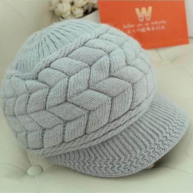 Tienda Online Nuevas mujeres invierno cálido sombrero gorros ...