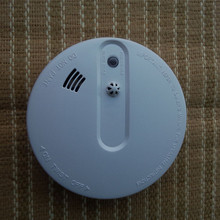 9V Battery Operated Fireplace Alarm Wi-fi Mixed Smoke Warmth Detector Warmth Sensor for 433MHz Wi-fi Intruder Alarm System