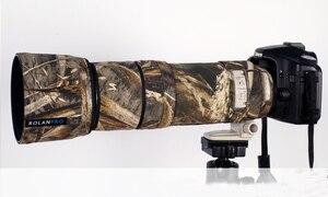 Image 3 - ROLANPRO Lens Kamuflaj Ceket yağmur kılıfı Canon EF 100 400mm f4.5 5.6 L IS USM Lens Koruyucu kılıf Lens koruma kollu